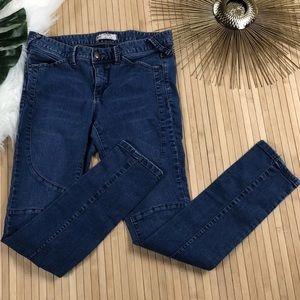 Free People Women's Zipper Ankle Skinny Jeans